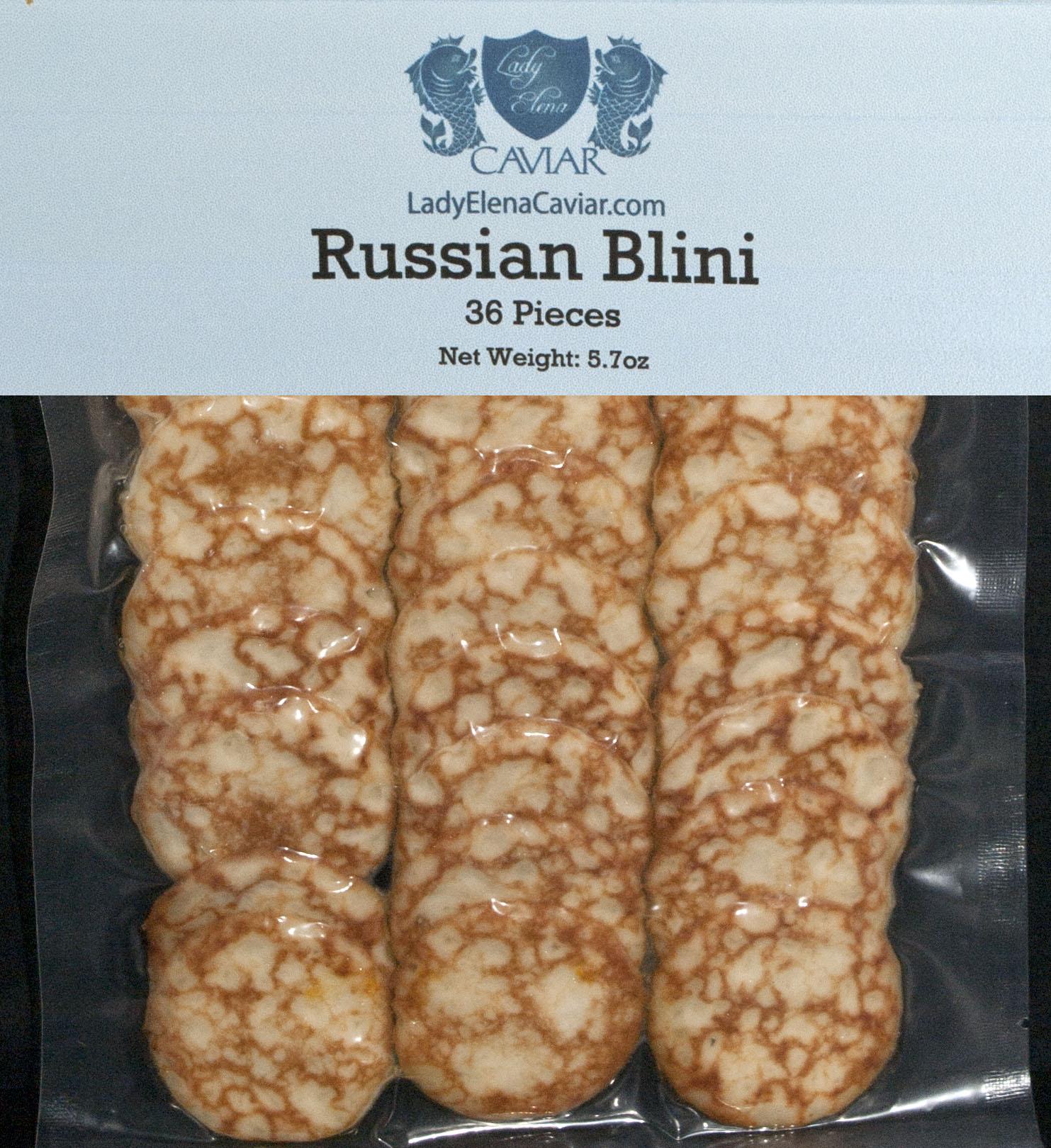 Blini 36 pack