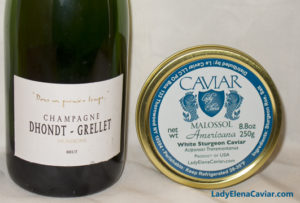 valentines day gift dhondt grellet champagne and caviar