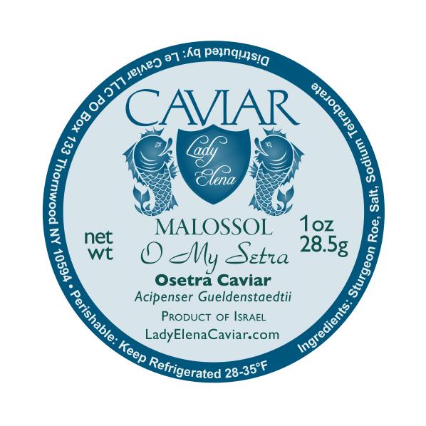 Lady Elena Caviar Osetra Caviar