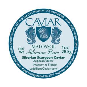 Siberian Sturgeon caviar France
