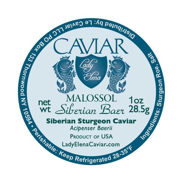 Siberian Sturgeon caviar USA