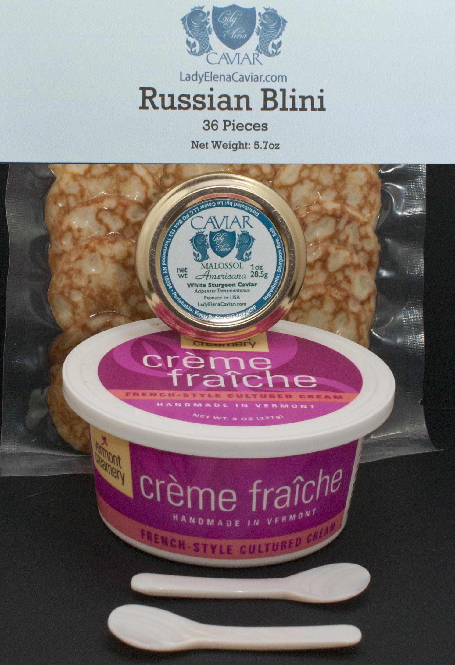 White Sturgeon Caviar Service Gift
