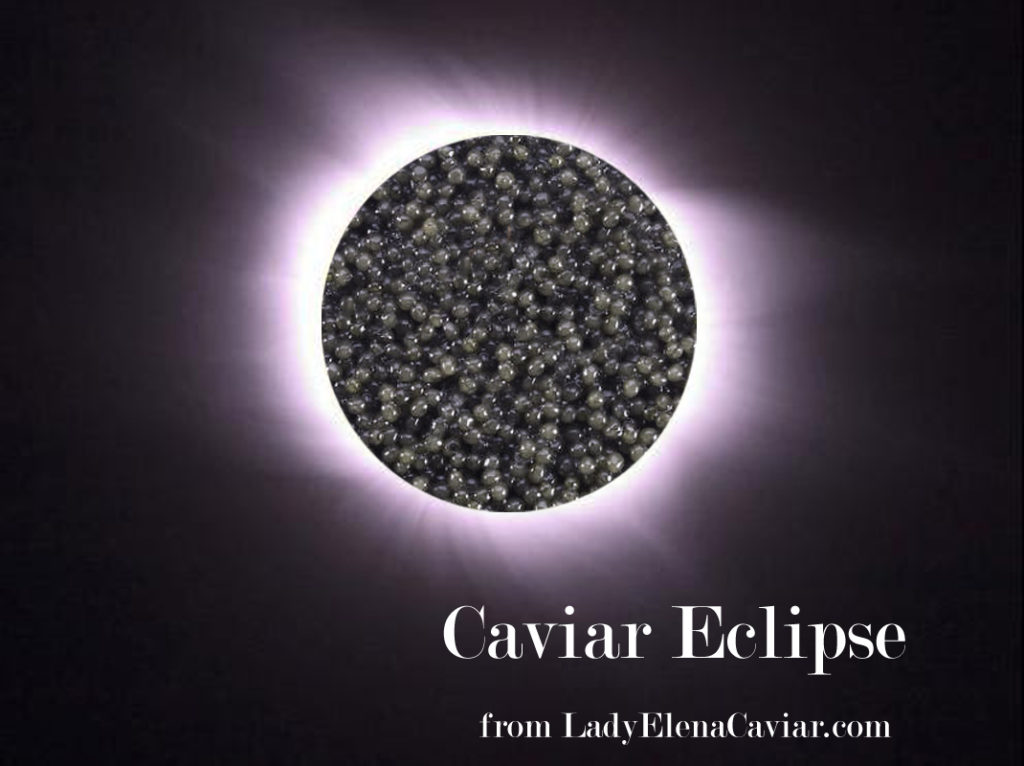 Solar Caviar Eclipse with Paddlefish Caviar