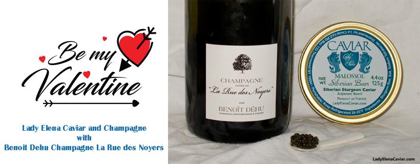Be My Valentine Benoit Dehu Champagne La Rue des Noyers