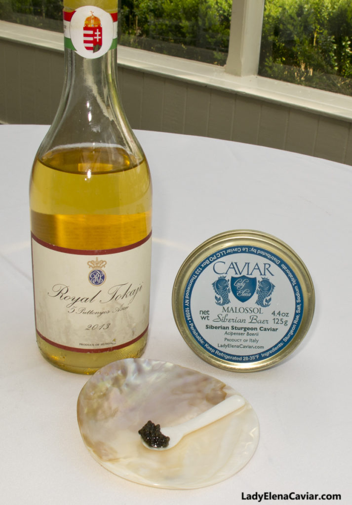 Mothers Day 2013 Royal Tokaji Red Label Siberian Sturgeon Caviar